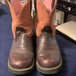 FatBaby the Arita original cowgirl boots.